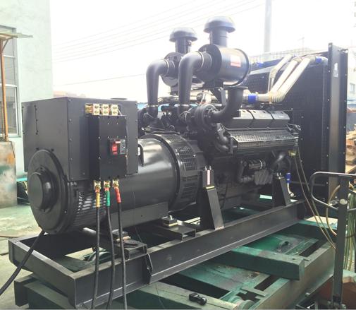河北石家庄第二医院采购珀金斯动力500KW柴油发电机组