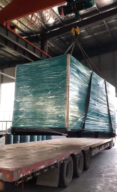 发货篇—800KW康明斯柴油发电机组装车发货至山西