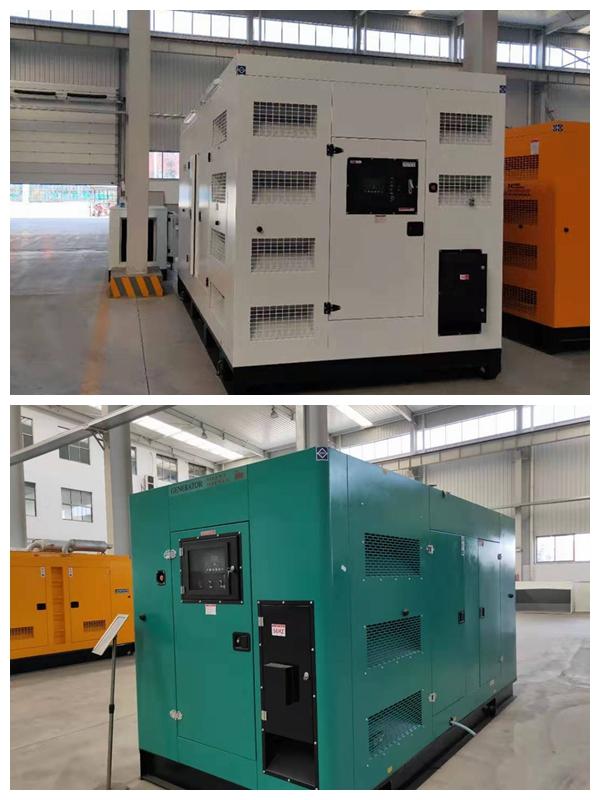 箱式发电机组已完工待发货至客户现场,颜色自定义!现货为白色一套/绿色一套