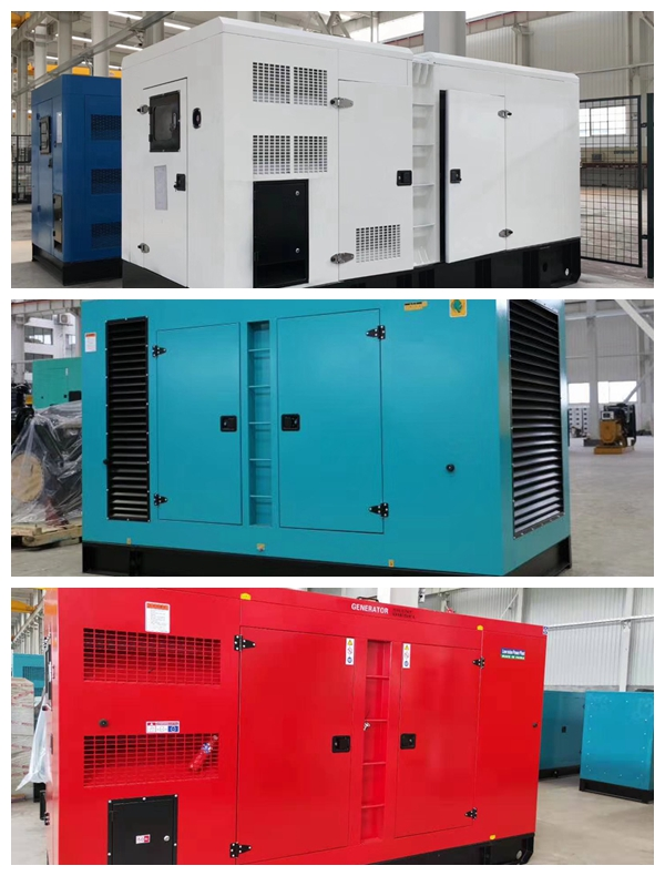 静音箱体柴油发电机组,油耗少,稳定性好