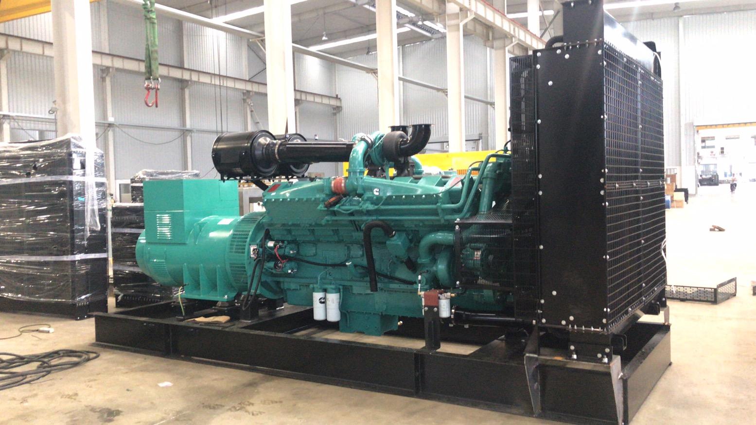C1000kw柴油发电机组展示